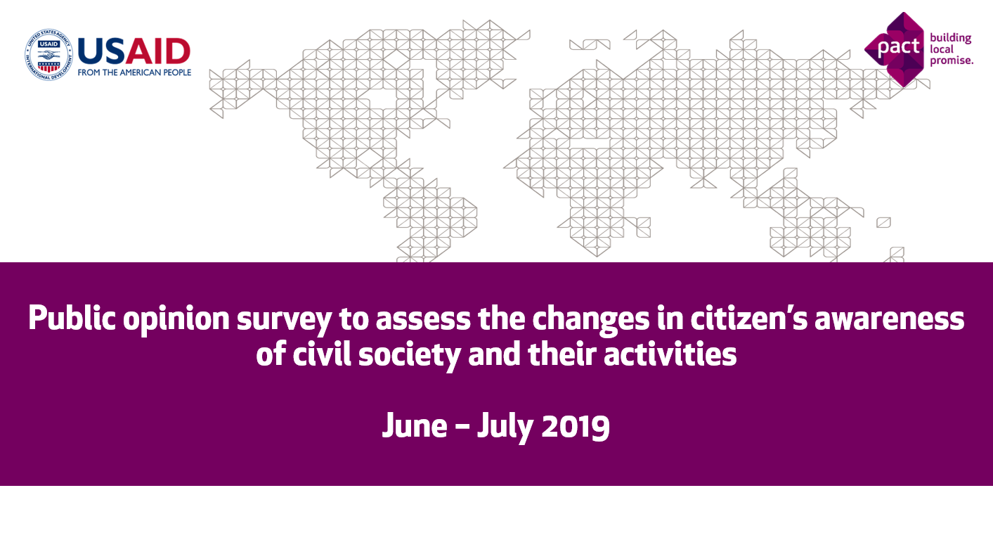 Public Opinion Research in Ukraine (June - July 2019): Civil Activism and Attitudes to Reform