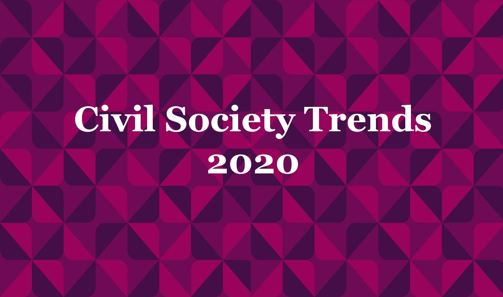 Civil Society Trends 2020