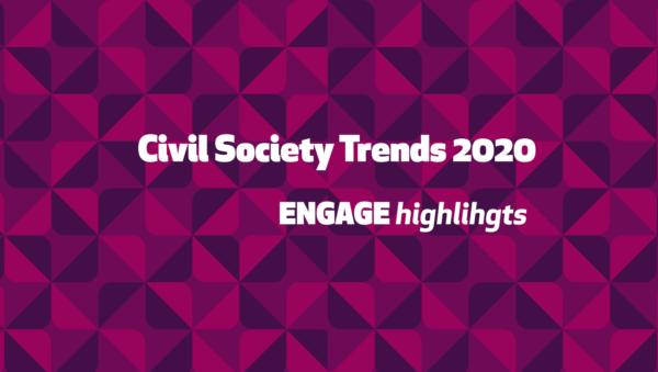 ENGAGE Highlights: Тренди громадянського суспільства у 2020 році