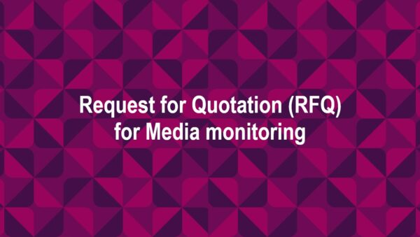 Запит цінової пропозиції (RFQ) на надання послуг з медіа моніторингу для міжнародної організації Pact Inc