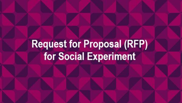 Запит цінової пропозиції на проведення соціального експерименту для Pact Inc.