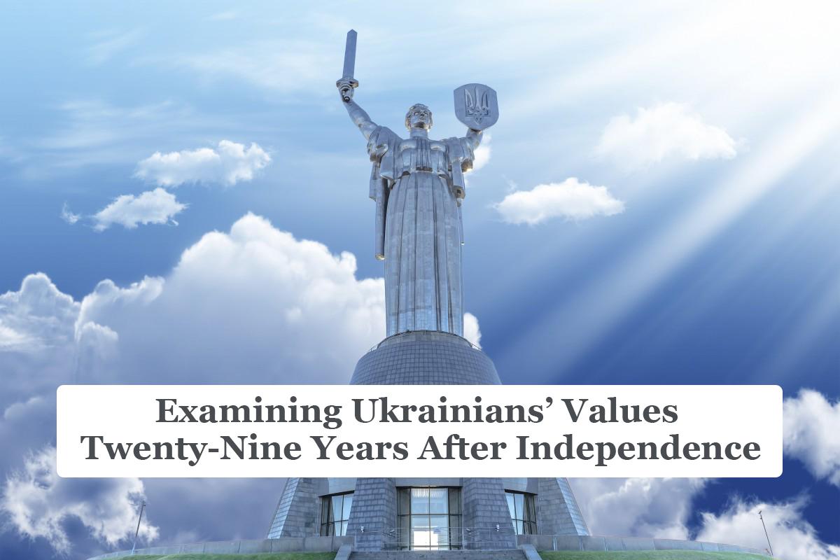 Examining Ukrainians' Values Twenty-Nine Years After Independence