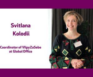 Голос громадянського суспільства України – Світлана Колодій