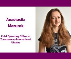 Голос громадянського суспільства України – Анастасія Мазурок