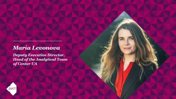 Voice of Ukrainian Civil Society – Maria Levonova