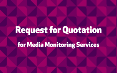 Request for Quotation (RFQ) for Media Monitoring Services