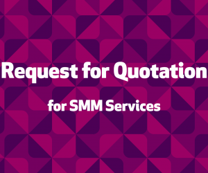 Request for Quotation (RFQ) for SMM Services